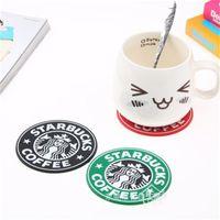 Silicone Cofistas Copos Thermo Almofada Titular Starbucks Maid-Maid Coffee Cofato Copos Tapete Tapete Decoração 5 S2