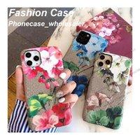 Moda Textil Phone Case para iPhone 12 11 Proxim casos com Airpods Apple Watchband Cartão Pocket 12Mini 11P x XR XSMAX 7/8 PLUS Capa atacadista 9101518