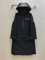 Casacos de pista de milão 2021 manga comprida com capuz casacos femininos designer marca Mamas jaquetas de estilo 0301-7