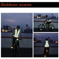 Car Organizer Breathable Traffic Night Work Security Running Cycling Safety Reflective Vest High Visibility Jacket
