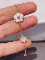 Designer 2021 Series Ladybug Fashion Clover Charm Bracelets Bangle Chain High Quality S925 Sterling Silver 18K Rose Gold for Women&ampampGi