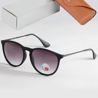 الكلاسيكية العلامة التجارية أشعة 4171 النظارات الشمسية الاستقطاب الرجال النساء نظارات الشمس oculos دي سول feminino حماية مرايا نظارات الشمس