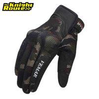 Summer Motorcycle Men Biker Motocross Motorbike Moto Touch Screen Racing Riding Full Finger Gloves Protective Gear