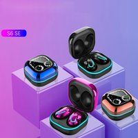 S6se Wireless Bluetooth Headphones 5.1 Auriculares de jogos no ouvido HiFi Esportes Sports Cancelar fone de ouvido para Samsung Xiaomi iPhone Huawei