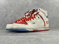 ishod wair x magnus walker 덩크 신발 남자 WMS 농구 높은 낮은 트레이너 도시 무법자 화이트 블루 레드 277 스케이트 보드 스포츠 스니커즈 크기 36-45
