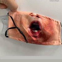 Maske أقنعة مصمم Mascherine قناع سميكة الوجه القطن الفم PM2.5 النشط فلتر الكربون قابل للغسل مرونة أحزمة الأذن قابل للتعديل