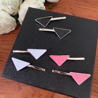 상위 3 색 디자인 삼각형 헤어핀, 새로운 패션 여성용 헤어 밴드 고품질 보석 공급