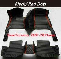 for Maserati GranTurismo 2007-2011 Custom Car Splicing Floor Mats Waterproof Leather Wear-resistant Non-toxic Tasteless and Environmentally Friendly Foot Mats