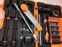 Destornilladores Jakemy JM-8139 45 en 1 Set de destornillador preciso Juego de reparación Herramientas de apertura para teléfonos móviles Mantenimiento electrónico GGA175 4M7E