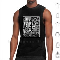 Nf Tank Tops Vest 100% Cotton Music Rap Hip Hop Mansion Therapy Session Perception Outcast Real Outro Intro Rapper