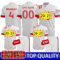2020 2021 FC Toronto Soccer Jerseys Kit Kit Altidore Bradley Football Shirts Adulto MLS Osorio Pozuelo Uniforme Más 50 unids gratis DHL envío