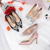Dress Shoes BaoYaFang Pointed Toe Women Wedding Bridal High Heels Ladies Party Woman Fashion Pumps