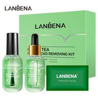 2 in 1 LANBENA Blackhead Remover Serum Black Head Removal Face Mask Skin Care Facial Beauty Shrink Pores Treatment Shrinks Pore Essence 1004
