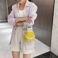 Mini Handtaschen Candy Pearl Girls Womens Mode Kinder Messenger Kette Luxus Tasche Neue Quadratische One-Shoulder Bags A6094 KXJFH