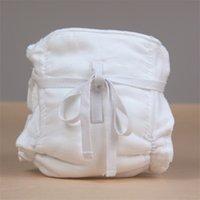 Pañales de tela 1pc 6 capas bebé pañales cubierta reutilizable lavable agua impermeable orgánico bambú algodón envoltura inserto insertos Boosters Liners 1494 B3