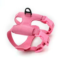 Dog Apparel Breathable Harness Leash With Adjustable Straps Pet Car Automotive Seat Safety Belt Chest