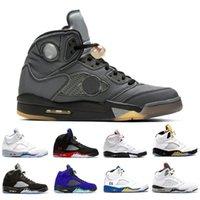 2021 мода белый цемент jumpman 5 мужские сапоги обувь черная виноградная металлическая топ 3 белый цемент Что такое 5s мужские тренеры спортивные кроссовки