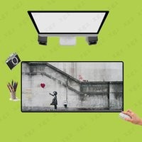 Mouse Pads & Wrist Rests XGZ High Quality Hand-painted Large Pad Non-slip Gaming Mousepad Waterproof And Stain-proof Mat Gamer Accessories X