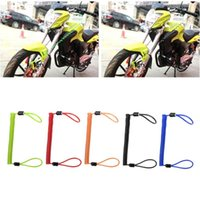 Theft Protection Motorcycle Alarm Disc Lock Security Spring Reminder Cable 150cm Bike Scooter Bicycles Accessories