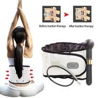 Full Body Massager Lumbar Spinal-Air Decompress Support Posture Corrector Belt For Men Women Air Traction Waist Protector