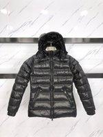 2021 Световой вид Женская куртка Дизайнерские пальто Женщины Зимние Холодистые Пальто Утолщенные Теплые Капюшоны Высокое качество Новый Шаблон Гусиные Даунс Куртки Большой Размер