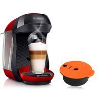 recafimil قهوة إعادة الملء ل b-osch tassim-o آلة قهوة فلتر الأجهزة جراب لصانع كريما الغنية