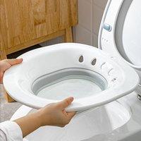 Bathing Tubs & Seats Folding Bathtub For Women Bidet Sauna Hip Irrigator Perineum Pregnant Bath Shower Bathroom Washbasin Toilet