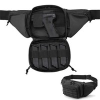 Sacos ao ar livre tático arma cintura saco coldre peito militar combate camping esporte caça atlético ombro sling x261a