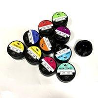 West Coast Cure Wax Jar 5ml Clear Glass CAN met kinderbestendig deksel voor droge kruid wax dikke olie concentraat DHL gratis