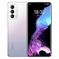 "Original Meizu 18 5G Mobiltelefon 8 GB RAM 128 GB 256GB ROM Snapdragon 888 64MP AI NFC 4000MAH Android 6.2 ""Amoled gekrümmter Vollbild-Fingerabdruck-ID Gesicht Smart-Handy"