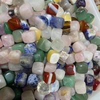 Regalo Natural Cristal Misceláneo Piedra Cuadrado Cuarto Curación Curación Gema Chakras Mineral Reiki Energía Decoración del hogar