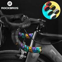 ROCKBROS MTB Road Bike Handlebars Cycling Handlebar Tape 2.3MM Thickened PU Eva Anti-slip Wear-resistant Shockproof Grip Tapes Bicycle Accessories