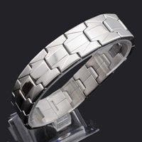 Tennis ATGO Rock Fashion Jewelry Punk 316L Stainless Steel Bracelet For Men Women Wrap Wristband Chain Bangle 16MM Wide BB911