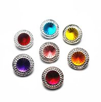 Arts And Arts, Crafts Gifts Home & Garden10Pcs Lot Jewelry Mixed Style Shimmer Resin Fit 18Mm Snap Buttons Drop Delivery 2021 1Qexj
