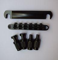 Definir 12 string sela tune-o-matic ponte tailpiece para lp guitarra elétrica com âncora de garanhão