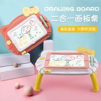 Tavola da disegno dei cartoni animati per bambini Tavola da scrittura magnetica per bambini da 1-3 anni Graffiti Vernice Verniciatura Scrittura a mano Tavolo da disegno