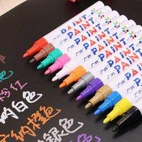 Yeni Grafiti Çizim Boya Marker Kalem Araba Lastik Lastik Sırtı Su Geçirmez CD Cam Kalıcı Marcador Caneta Kırtasiye