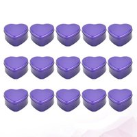 15шт в форме сердца конфеты Candy Creative Creative Box Box Портативная мода Candy Case Station для вечеринки свадьба (щенг)