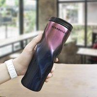 500 ملليلتر ستاربكس كوب الرجال والنساء أكواب المفضلة أكواب القهوة الفولاذ المقاوم للصدأ أكواب دعم مخصص شعار الشحن السريع 2021 drinkware