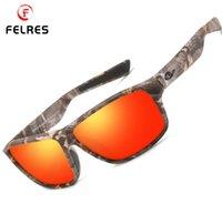 Sunglasses FELRES Polarized Sport For Men Women Outdoor Driving Cycling Fishing Glasses UV400 Eyewear Design F8713