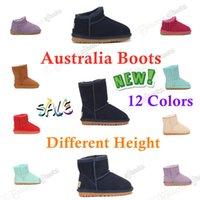 Marka Çocuk Ayakkabı Kızlar Wgg UG UGGS Çizmeler Satılık Avustralya Avustralya Kış Sıcak Ayak Bileği Toddler Boys Bot Siyah Pembe Ayakkabı Çocuklar Kar Boot Çocuk Peluş Ultra Mini