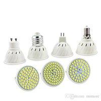 E27 E14 MR16 GU10 Lampada LED Ampul 110 V 220 V Bombillas LED Lamba Spot 48 60 80 LED Lampara Spot CFL Bitki Işık Büyümek