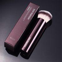 Sanduhr verschwinden Makeup Foundation Pinsel - Nahtlose Finish Weiches synthetisches Haar Make-up-Bürsten für flüssiges Creme-Kosmetik-freies Schiff 50