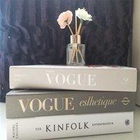 Nuevo libro de resina moderna libro falso decoración de la decoración de los accesorios de decoración de los objetos de estudio de dormitorio y0616