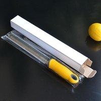 Paslanmaz Çelik Narenciye Limon Zester Peynir Rende Parmesan Peynir Limon Sebze Razor Keskin Bıçak Koruyucu Kapak Mutfak Aletleri BWF5175