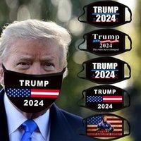 2024 트럼프 마스크 대통령 선거 트럼프 페이스 마스크 성인용면 방진 세척 가능한 통기성 마스크 10 색 미국 주식