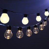 Strings Garland 10 20 Led Fairy Light String Bulbs Festoon Christmas Lights Decoration Street For Garden Outdoor Navidad