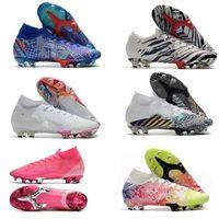أحدث النخبة mercurial fg نيمار رونالدو رجل fg soccer المرابط أرخص أحذية كرة القدم الرجال أحذية كرة القدم Size35-45