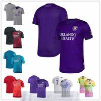 Custom Orlando Mens women youth City SC 7 Alexandre Pato 2 Ruan Teixeira 6 Robin Jansson White 2020 Heart and Sol Replica Player Jersey