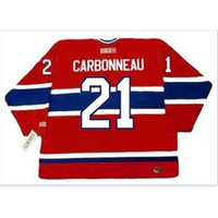 Goodjob мужчины молодежи женщины винтаж # 21 парень карбональный монреаль Canadiens 1993 CCM Hockey Jersey Size S-5XL или пользовательское имя или номер